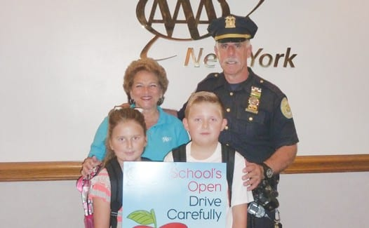 detective richard pedone of the garden city police department helped to launch aaas schools - Garden City Police Department