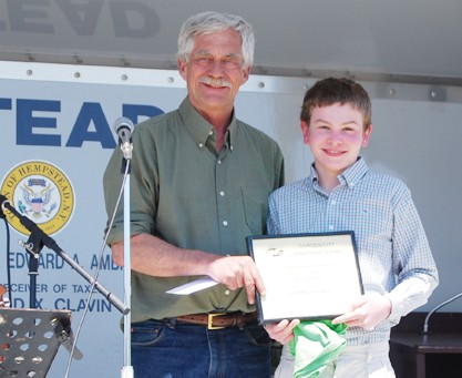 Family Business Essay Liam Gaffney Is Presented His Award For Winning The Environmental Essay  Contest By Garden City Bird English Essay Speech also English Essay Outline Format Essay Contest Winner  Garden City News Persuasive Essay Topics For High School
