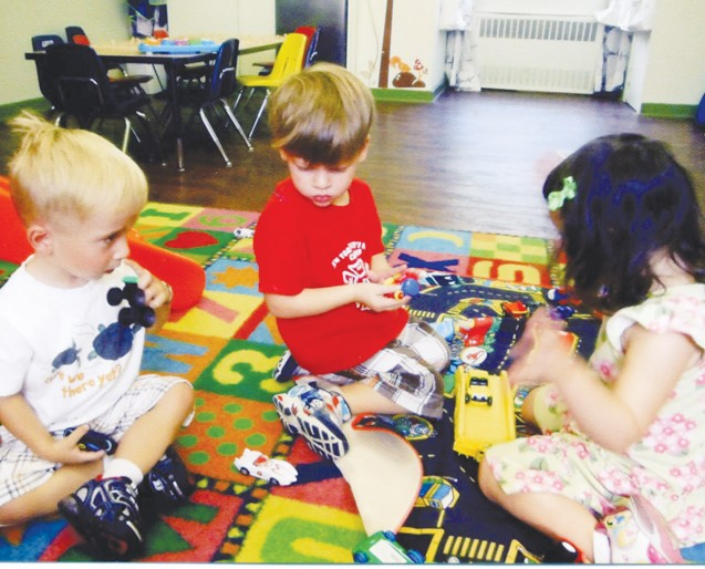 Two Year Olds Play Learn And Make Friends At The Garden Manor Nursery School Part