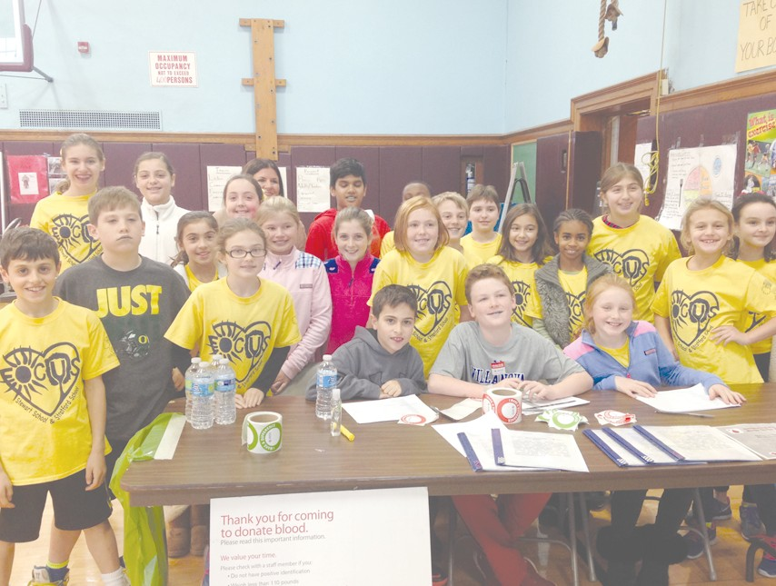 garden city elementary school students are ready to assist at blood drives - Garden City Elementary School