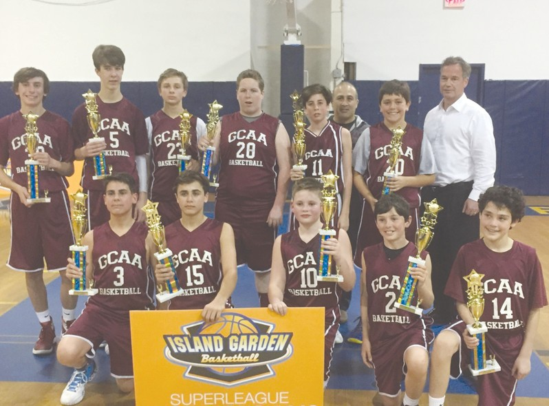 gcaa 7th grade boys basketball team - Island Garden Basketball