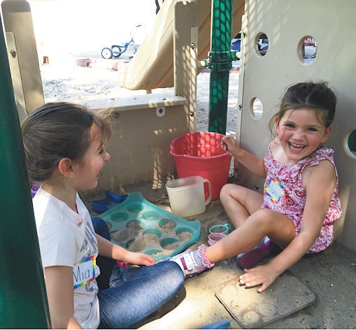 Two Hy Campers At Garden City Nursery School