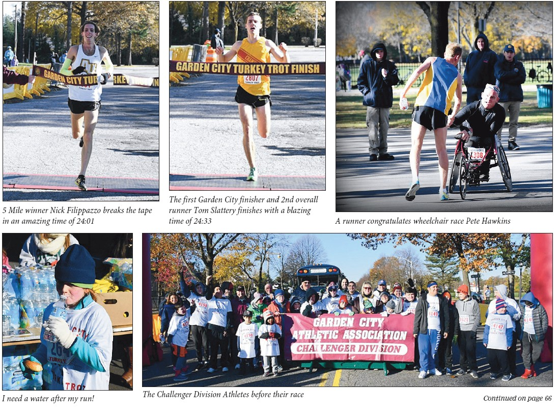 garden city buffalos for their presence and support on race day thank you al vanasco and bill kenney for always making the challenger division race - Garden City Turkey Trot
