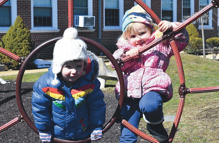 Enjoying Outdoor Play There Were Many Reasons To Celebrate At The Community Church Nursery School